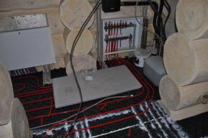 Проводка электричества в элитный дом из дерева
